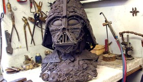 Darth Vader from Scrap