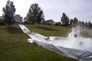 Massive slip 'n slide
