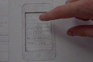 Travellr - Paper Prototype