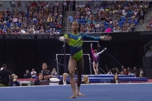 Gabby Douglass Floor Routine