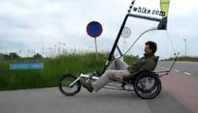 Whikes – Wind Powered Tricycles