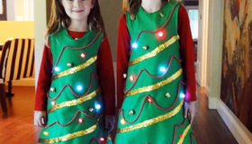 LED Christmas Tree Costume