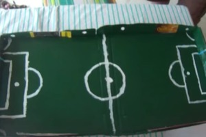 How To Make A Portable Soccer Game In A Pizza Box
