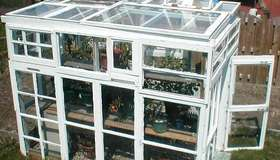 Gallery of homemade greenhouses