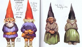 Gnomes Illustrations