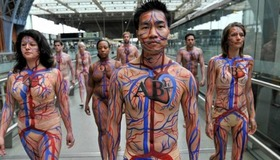 Circulatory System Body Art