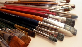 Acrylic Paintbrush Guide