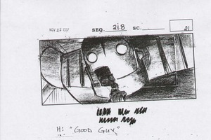 Iron Giant Storyboards