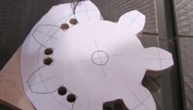 Make Wooden Gears from Plywood