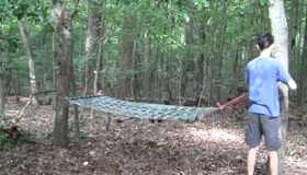 Easy Duct Tape Hammock