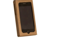 Cardboard iPhone Case
