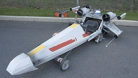 X-Wing Soap Box Derby Car