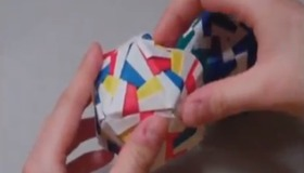 Patterned Icosahedron
