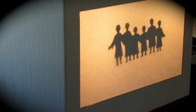 Build a Shadow Puppet Screen