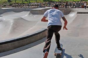 9 Year Old Skater at Skatepark