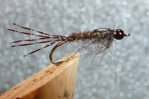 Tying a Mayfly