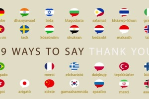 How to Say Thank You in (Almost) Every Language