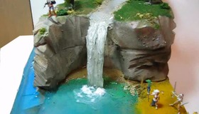 Miniature Waterfall