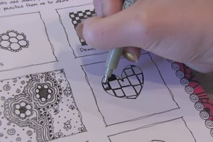 The Art Of ZENTANGLE - My Drawings & Doodles!