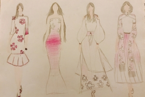 Fashion Designs about flowers