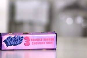 Wonka Three Course Dinner Chewing Gum recipe