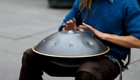 Mysterious Instrument on the Street