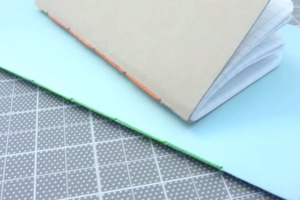 How to Make a Book : Saddle Stitch with Thread