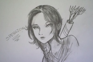 SPENSICUS DRAWS: Katniss Everdeen (Hunger Games)
