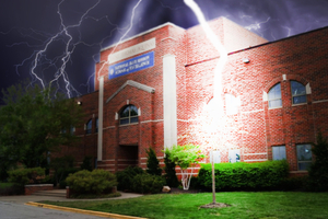 Photoshopped Lightning