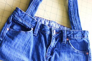 How to Sew a Bag from Jeans