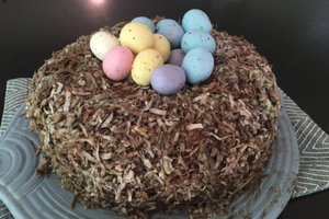 Easter nest cake!
