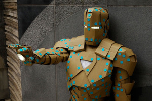 Iron Man Cardboard Costume