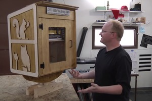 Ben Heck's Little Free Library