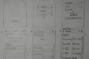 Mobile Application Wireframes
