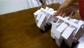 Theo Jansen Papercraft Walker