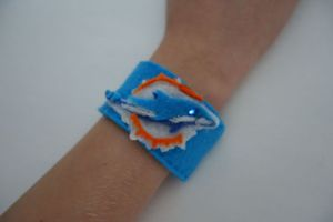 Miami Dolphins LED Cuff
