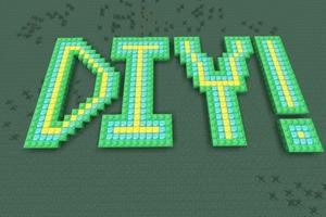 Minecraft DIY Logo