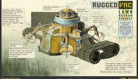 Rugged Vac Lawn Vacuum