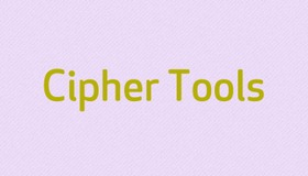 Cipher Tools