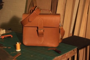 How To Make a Leather Satchel