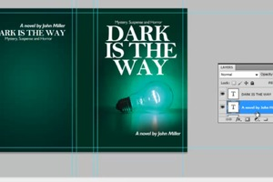 Design a Book Cover in Photoshop