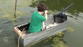 Duct Tape Boat