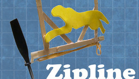 How To Make a Zipline Racer