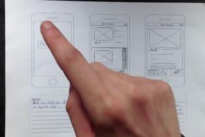 Scoubidoo - iPhone app, Wireframe