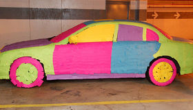 Post-It Covered Car