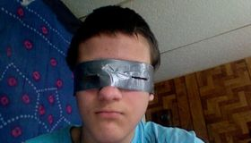 Duct Tape Snow Goggles