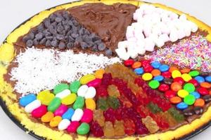 Nutella Dessert Pizza