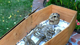 Make a Paper Mache Skeleton