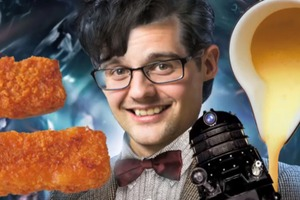 Doctor Who- Fish Fingers and Custard