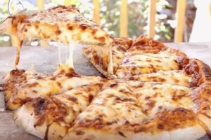 Ultimate 4-Cheese Pizza Recipe with Homemade Vegetable Sauce